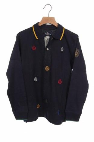Παιδική μπλούζα St.Martin polo club, Μέγεθος 9-10y/ 140-146 εκ., Χρώμα Μπλέ, 100% βαμβάκι, Τιμή 8,04€