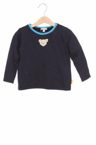 Παιδική μπλούζα Steiff, Μέγεθος 18-24m/ 86-98 εκ., Χρώμα Μπλέ, 80% βαμβάκι, 20% πολυεστέρας, Τιμή 9,89€