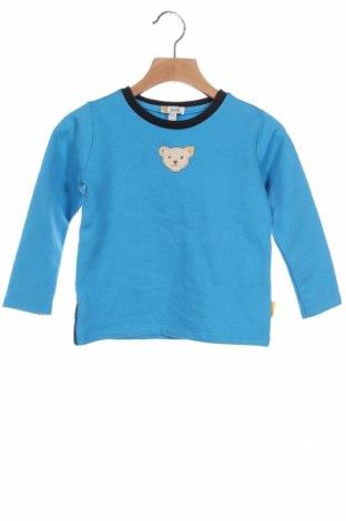 Παιδική μπλούζα Steiff, Μέγεθος 18-24m/ 86-98 εκ., Χρώμα Μπλέ, 80% βαμβάκι, 20% πολυεστέρας, Τιμή 14,76€