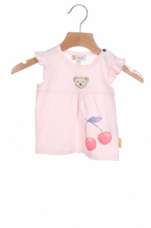 Παιδική μπλούζα Steiff, Μέγεθος 1-2m/ 50-56 εκ., Χρώμα Ρόζ , 95% βαμβάκι, 5% ελαστάνη, Τιμή 18,93€
