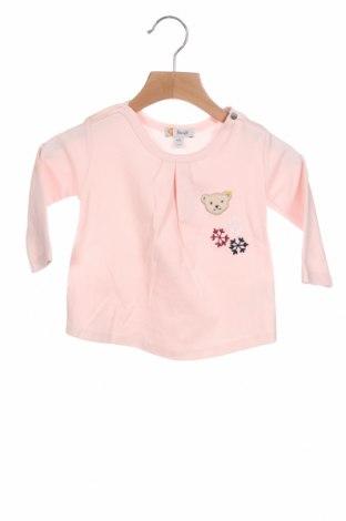 Παιδική μπλούζα Steiff, Μέγεθος 3-6m/ 62-68 εκ., Χρώμα Ρόζ , 100% βαμβάκι, Τιμή 11,14€