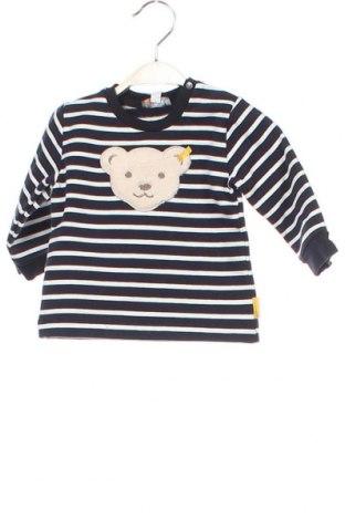 Παιδική μπλούζα Steiff, Μέγεθος 3-6m/ 62-68 εκ., Χρώμα Μπλέ, 95% βαμβάκι, 5% ελαστάνη, Τιμή 11,55€