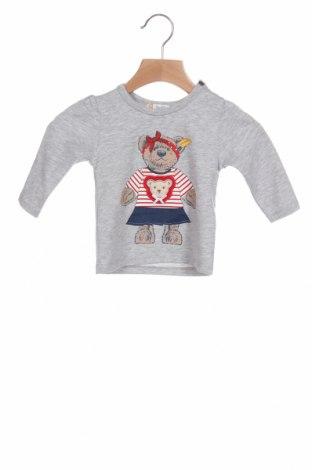 Παιδική μπλούζα Steiff, Μέγεθος 3-6m/ 62-68 εκ., Χρώμα Γκρί, 51% βαμβάκι, 44% πολυεστέρας, 5% ελαστάνη, Τιμή 11,14€