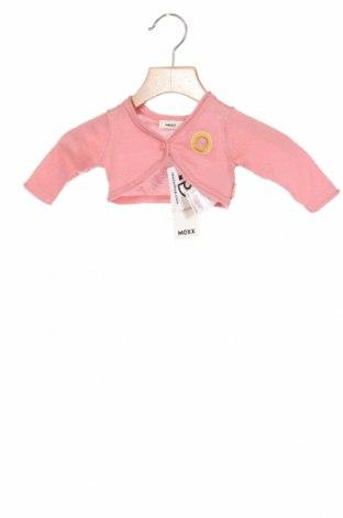 Детска жилетка Mexx, Размер 0-1m/ 50 см, Цвят Розов, Памук, Цена 4,40лв.