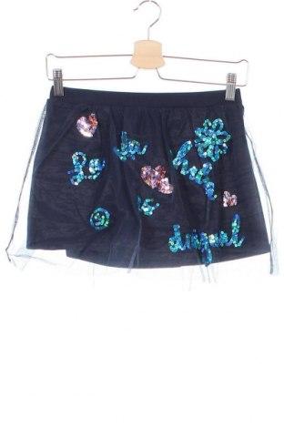 Παιδική φούστα Desigual, Μέγεθος 10-11y/ 146-152 εκ., Χρώμα Μπλέ, Πολυεστέρας, Τιμή 17,79€