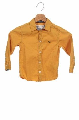 Детска риза H&M L.O.G.G., Размер 2-3y/ 98-104 см, Цвят Жълт, Памук, Цена 19,00лв.