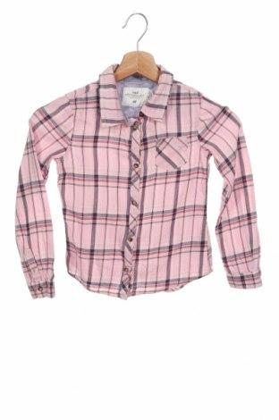 Детска риза H&M L.O.G.G., Размер 7-8y/ 128-134 см, Цвят Розов, Памук, Цена 19,00лв.