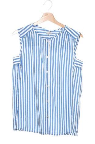 Детска риза Pepe Jeans, Размер 15-18y/ 170-176 см, Цвят Син, Вискоза, Цена 48,30лв.