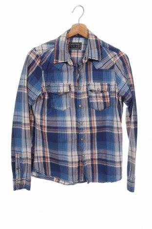 Детска риза Zara, Размер 13-14y/ 164-168 см, Цвят Син, 100% памук, Цена 19,00лв.
