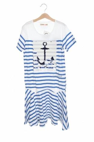 Dětské šaty  Desigual, Velikost 12-13y/ 158-164 cm, Barva Modrá, 100% bavlna, Cena  942,00Kč