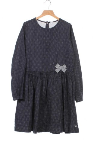 Παιδικό φόρεμα Petit Bateau, Μέγεθος 11-12y/ 152-158 εκ., Χρώμα Μπλέ, Βαμβάκι, Τιμή 13,76€
