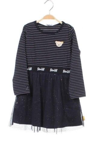 Παιδικό φόρεμα Steiff, Μέγεθος 2-3y/ 98-104 εκ., Χρώμα Μπλέ, 95% βαμβάκι, 5% ελαστάνη, Τιμή 18,85€
