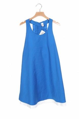 Παιδικό φόρεμα Zara Kids, Μέγεθος 10-11y/ 146-152 εκ., Χρώμα Μπλέ, 79% βαμβάκι, 17% πολυαμίδη, 4% ελαστάνη, Τιμή 23,38€