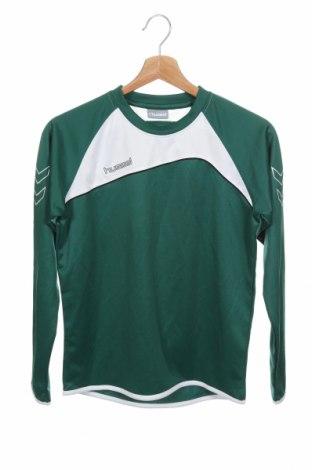 Παιδική μπλούζα αθλητική Hummel, Μέγεθος 10-11y/ 146-152 εκ., Χρώμα Πράσινο, Πολυουρεθάνης, Τιμή 10,21€