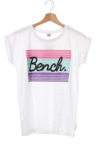 Παιδικό μπλουζάκι Bench, Μέγεθος 11-12y/ 152-158 εκ., Χρώμα Λευκό, Βαμβάκι, Τιμή 7,92€
