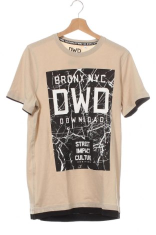 Παιδικό μπλουζάκι Here+There, Μέγεθος 15-18y/ 170-176 εκ., Χρώμα  Μπέζ, Βαμβάκι, Τιμή 11,04€