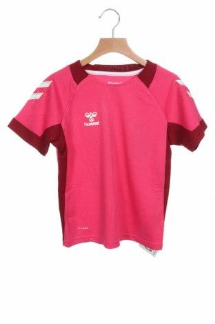 Παιδικό μπλουζάκι Hummel, Μέγεθος 7-8y/ 128-134 εκ., Χρώμα Ρόζ , Πολυεστέρας, Τιμή 10,52€