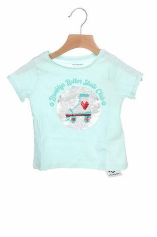 Παιδικό μπλουζάκι Vertbaudet, Μέγεθος 18-24m/ 86-98 εκ., Χρώμα Πράσινο, Βαμβάκι, Τιμή 11,51€