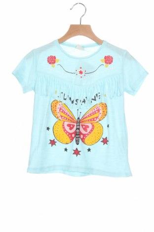 Dětské tričko  Zara, Velikost 5-6y/ 116-122 cm, Barva Modrá, 65% polyester, 35% bavlna, Cena  299,00Kč