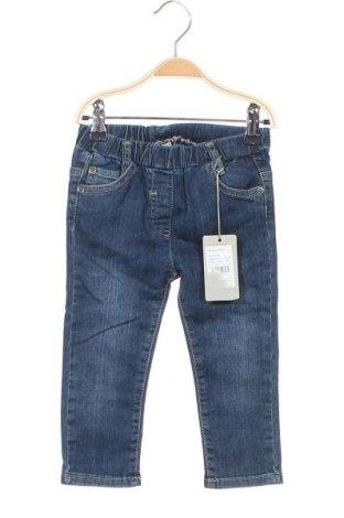 Детски дънки Kanz, Размер 18-24m/ 86-98 см, Цвят Син, 98% памук, 2% еластан, Цена 33,58лв.