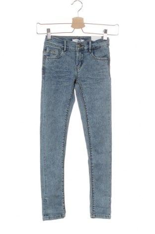 Детски дънки Name It, Размер 7-8y/ 128-134 см, Цвят Син, 89% памук, 9% полиестер, 2% еластан, Цена 31,20лв.