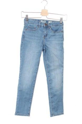 Детски дънки Oshkosh, Размер 7-8y/ 128-134 см, Цвят Син, 76% памук, 23% полиестер, 1% еластан, Цена 35,77лв.