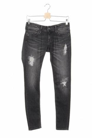 Детски дънки Pepe Jeans, Размер 15-18y/ 170-176 см, Цвят Сив, 98% памук, 2% еластан, Цена 71,40лв.