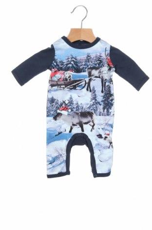 Детски гащеризон Me Too, Размер 0-1m/ 50 см, Цвят Син, 95% памук, 5% еластан, Цена 6,84лв.