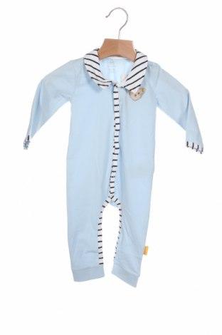 Παιδική σαλοπέτα Steiff, Μέγεθος 3-6m/ 62-68 εκ., Χρώμα Μπλέ, 95% βαμβάκι, 5% ελαστάνη, Τιμή 13,20€