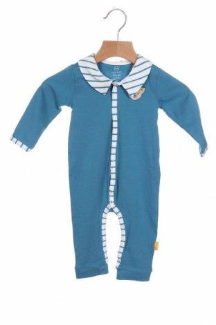 Παιδική σαλοπέτα Steiff, Μέγεθος 3-6m/ 62-68 εκ., Χρώμα Μπλέ, 95% βαμβάκι, 5% ελαστάνη, Τιμή 10,10€