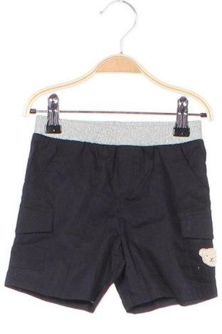 Παιδικό κοντό παντελόνι Steiff, Μέγεθος 12-18m/ 80-86 εκ., Χρώμα Μαύρο, Βαμβάκι, Τιμή 14,72€