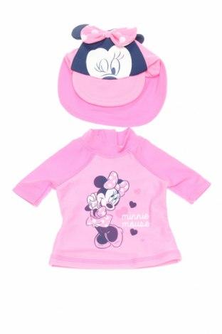 Детски комплект Disney, Размер 2-3m/ 56-62 см, Цвят Розов, 82% полиамид, 18% еластан, Цена 21,45лв.