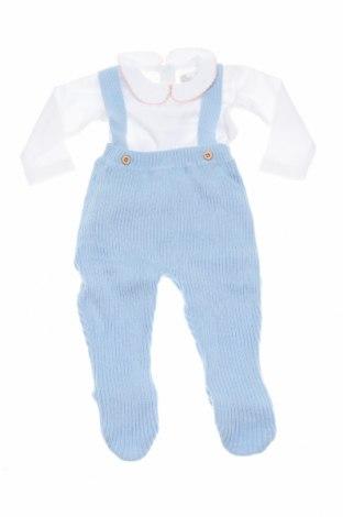 Dětský komplet  Street Monkey, Velikost 2-3m/ 56-62 cm, Barva Modrá, Bavlna,acryl, Cena  214,00Kč