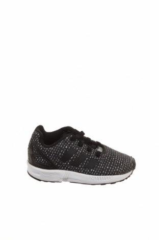 Παιδικά παπούτσια Adidas Originals, Μέγεθος 23, Χρώμα Μαύρο, Κλωστοϋφαντουργικά προϊόντα, δερματίνη, Τιμή 16,24€