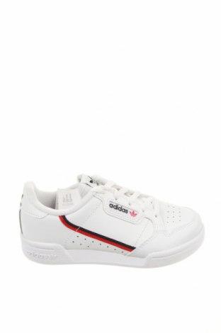 Детски обувки Adidas Originals, Размер 29, Цвят Бял, Естествена кожа, Цена 80,92лв.