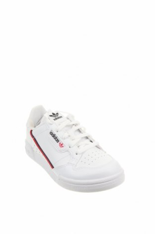 Детски обувки Adidas Originals, Размер 30, Цвят Бял, Естествена кожа, Цена 80,92лв.