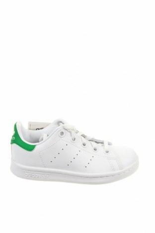Детски обувки Adidas Originals, Размер 28, Цвят Бял, Естествена кожа, Цена 89,25лв.