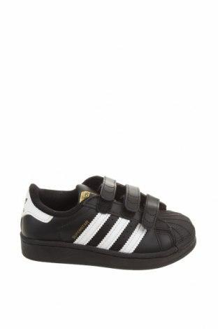Παιδικά παπούτσια Adidas Originals, Μέγεθος 29, Χρώμα Μαύρο, Γνήσιο δέρμα, Τιμή 41,71€