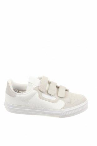 Παιδικά παπούτσια Adidas Originals, Μέγεθος 34, Χρώμα Λευκό, Δερματίνη, κλωστοϋφαντουργικά προϊόντα, Τιμή 31,20€