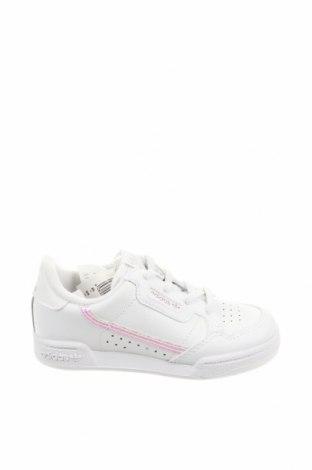 Παιδικά παπούτσια Adidas Originals, Μέγεθος 26, Χρώμα Λευκό, Γνήσιο δέρμα, δερματίνη, Τιμή 41,71€