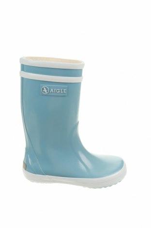 Детски обувки Aigle, Размер 25, Цвят Син, Полиуретан, Цена 45,15лв.