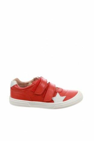 Παιδικά παπούτσια Bisgaard, Μέγεθος 33, Χρώμα Κόκκινο, Γνήσιο δέρμα, Τιμή 41,71€