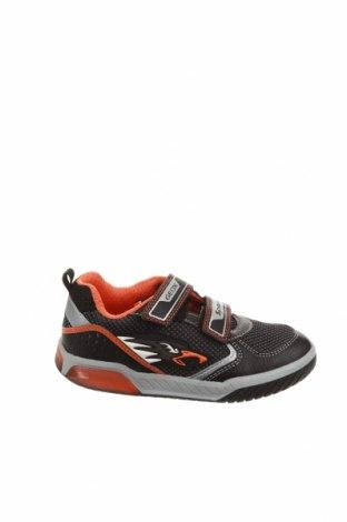Детски обувки Geox, Размер 31, Цвят Черен, Текстил, естествена кожа, Цена 59,25лв.