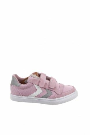 Детски обувки Hummel, Размер 32, Цвят Розов, Текстил, естествен велур, Цена 31,60лв.