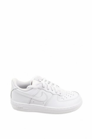Детски обувки Nike, Размер 30, Цвят Бял, Естествена кожа, еко кожа, Цена 89,25лв.