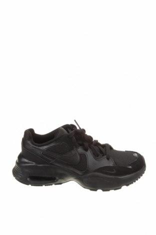 Детски обувки Nike, Размер 38, Цвят Черен, Естествен велур, естествена кожа, текстил, Цена 96,75лв.