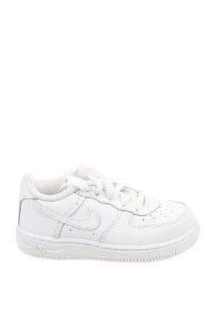 Детски обувки Nike, Размер 26, Цвят Бял, Естествена кожа, Цена 83,40лв.