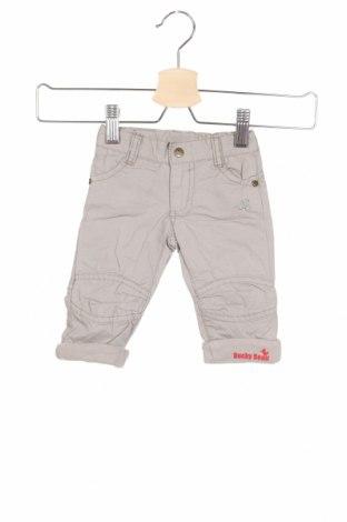Детски панталон Ducky Beau, Размер 1-2m/ 50-56 см, Цвят Сив, Памук, Цена 12,42лв.
