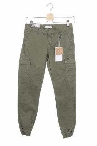 Παιδικό παντελόνι Name It, Μέγεθος 12-13y/ 158-164 εκ., Χρώμα Πράσινο, 98% βαμβάκι, 2% ελαστάνη, Τιμή 13,61€