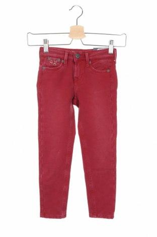 Παιδικό παντελόνι Pepe Jeans, Μέγεθος 3-4y/ 104-110 εκ., Χρώμα Κόκκινο, Βαμβάκι, Τιμή 38,27€